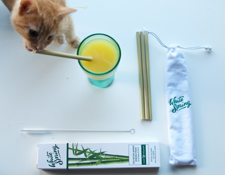 Bamboo Straw Review And A Discount Code - byLiiL